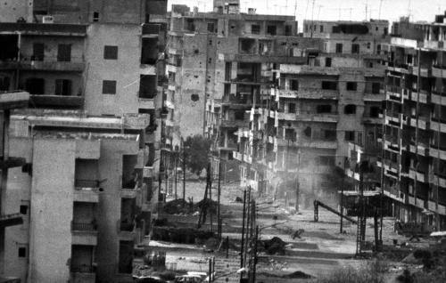 إشتباكات في طرابلس بين حركة التوحيد والحزب العربي الديمقراطي في 02-10-1985