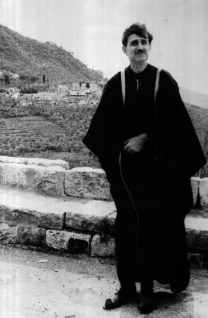 كمال جنبلاط في المختارة في 14-02-1972
